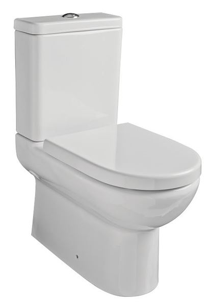 Picture of Gural Vit Compact top flush close couple toilet suite