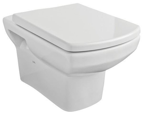 Picture of Gural Vit Nero wall hung toilet set