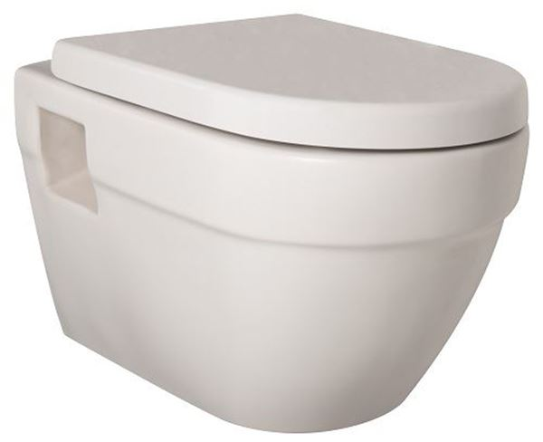 Picture of Gural Vit Jade wall hung toilet set