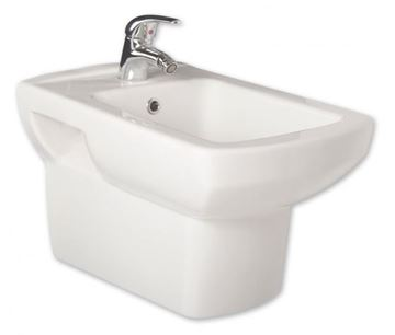 Picture of Gural Vit Nero wall hung BIDET