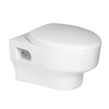 Picture of Sorrento Wall Hung toilet with toilet seat