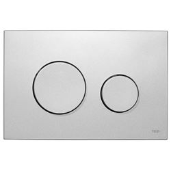 Picture of Tece Loop push plate for concealed cistern matt chrome plastic