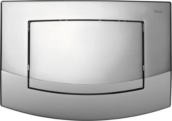Picture of TECE Ambia bright chrome push plate for concealed cistern