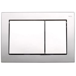 Picture of TECE Base Bright Chrome push plate for concealed cistern