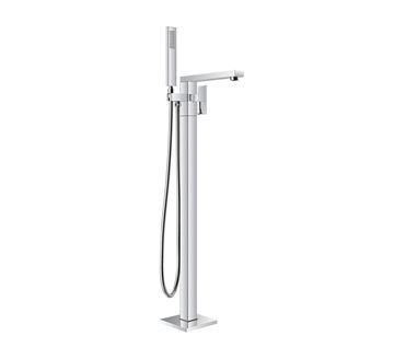 Picture of Super Deal  Bijiou TANZANITE Freestanding bath mixer square style, heavy brass, 12 years guarantee IN PROMOTION