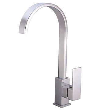 Picture of SALE Tanzanite square KITCHEN sink mixer DECK type