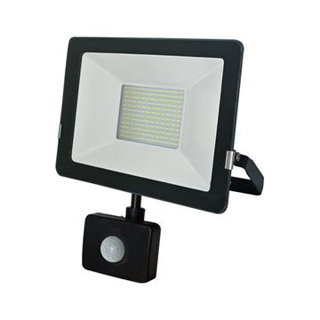 Picture of 10W LED Floodlight with PIR sensor, 750 Lm, IP65, 3 years GUARANTEE in SALE