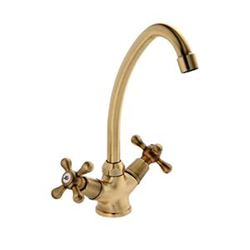 Picture of BIJIOU Adour Victorian style Brass Kitchen Sink Mixer with BRONZE finish
