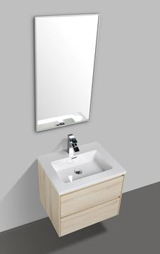Picture of Enzo Sahara bathroom cabinet 600 mm L with 2 soft closing drawers