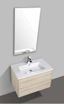 Picture of Enzo Sahara bathroom cabinet 800 mm L with 2 soft closing drawers