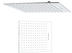 Picture of Luxurious Double Stainless steel shower head 400 x 500 mm L with Rainfall + Waterfall
