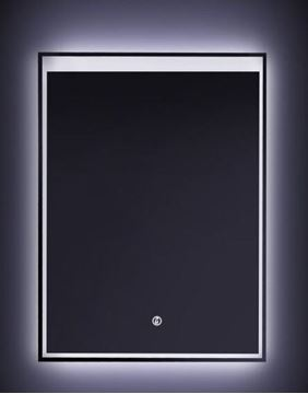 Picture of LED Mirror 600 mm x 900 mm H with On/Off Touch Light Switch