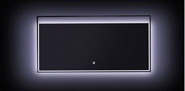 Picture of LED Mirror 800 mm  W x 600 mm H with On/Off Touch Light Switch