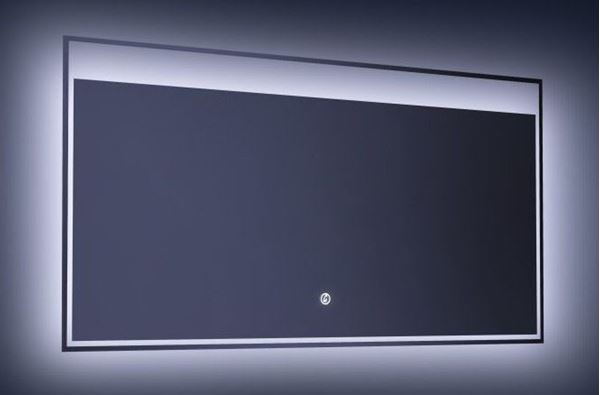 Picture of LED Mirror 1400 mm W x 600 mm H with On/Off Touch Light Switch