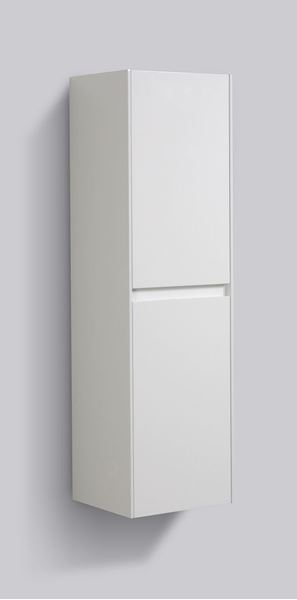 Picture of Enzo WHITE Side cabinet, 2 doors with BLUM soft closing hinges, 1200 H x 350 L x 300 D
