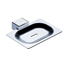 Picture of Bijiou Rhone Soap Dish, chrome plated Solid Brass & Stainless steel, square style