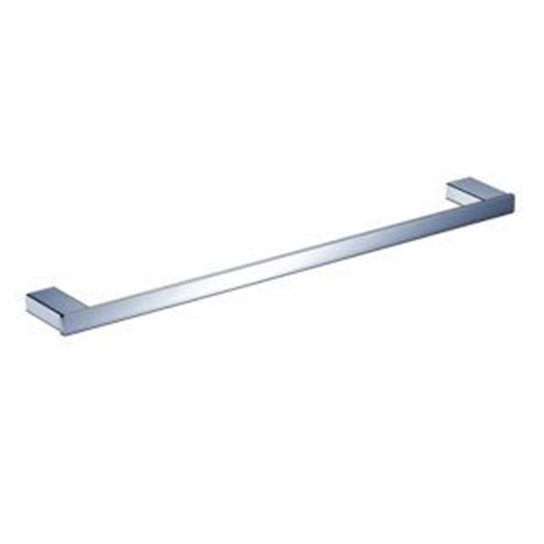 Picture of Bijiou Rhone Single Towel Rail 600 mm L, chrome plated SOLID Brass, square style
