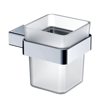 Picture of Bijiou Rhone Tumbler Holder, chrome plated Solid Brass, square style