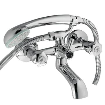 Picture of Coral BATH mixer SET with hand shower