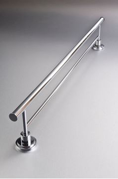 Picture of Sorrento Brass Double RAIL 760 mm Length