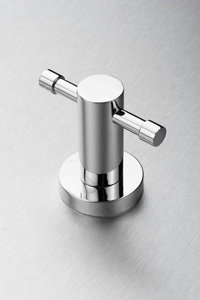 Picture of Torino Double ROBE Hook, Brass Chrome plated