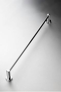 Picture of Torino Single Towel RAIL 760 mm Length,Brass Chrome plated