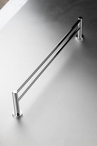 Picture of Torino 1000 mm L Double Towel RAIL Brass Chrome plated