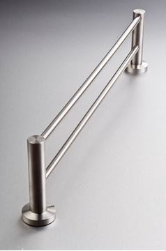 Picture of Inox Stainless Steel DOUBLE Towel RAIL 600 mm Length