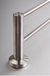 Picture of Inox Stainless Steel DOUBLE Towel RAIL 700 mm Length