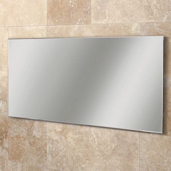 Picture of Beautiful MIRROR with WHITE Wooden backing, 1200 mm x 600 mm
