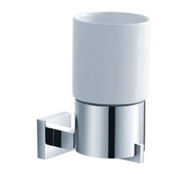 Picture of Verona TUMBLER Holder, Brass and Ceramic