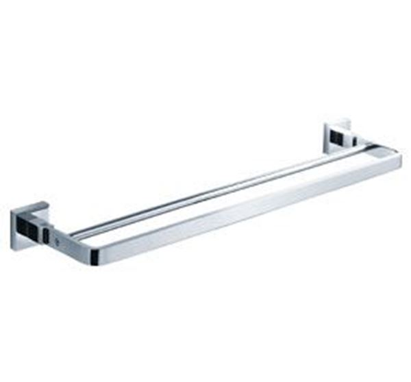 Picture of Verona Double RAIL 600 mm Length Brass Chrome plated