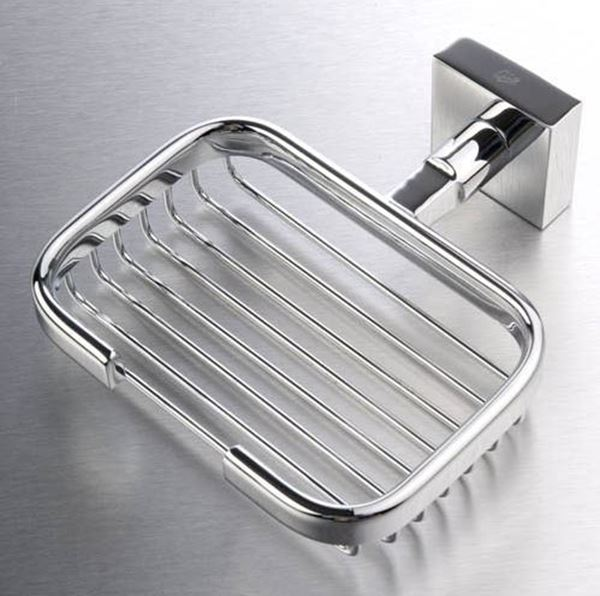 Picture of Verona SHOWER Soap BASKET, Brass chrome plated