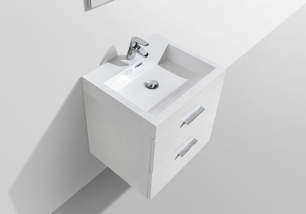Picture of Trevi WHITE Bathroom cabinet, 575 mm L with 2 drawers DELIVERED to CAPE TOWN