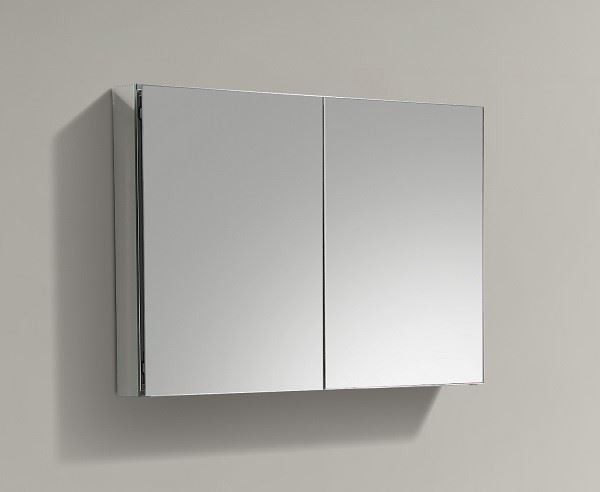 Picture of 1000 mm L Mirror Bathroom cabinet / Medicine cabinet with 2 shelves and 2 soft closing doors DELIVERED to CAPE TOWN