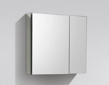 Picture of Luxurious 750 mm L Mirror Bathroom cabinet / Medicine cabinet, 2 doors and 2 shelves DELIVERED to CAPE TOWN