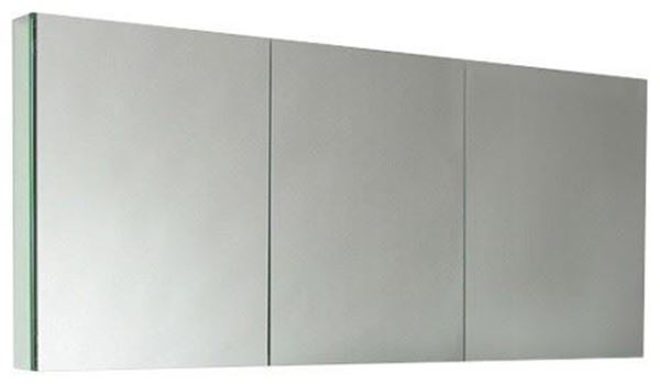 Picture of 1500 mm L Mirror Bathroom cabinet / Medicine cabinet with 3 soft closing doors and 2 shelves DELIVERED to CAPE TOWN City