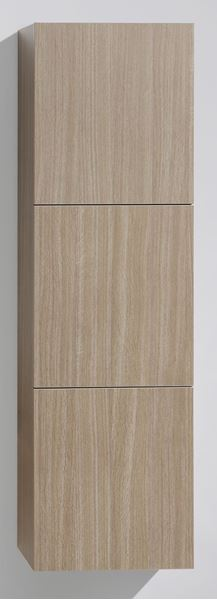Picture of OAK TALL Side Cabinet with 3 soft closing doors, 1500 H x 450 L x 300 D, DELIVERED to CAPE TOWN