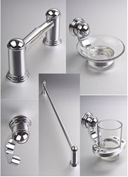 Picture of  Giardini 5 pieces GIFT SET bathroom accessories