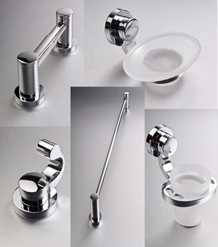 Picture of Nova 5 pieces GIFT SET bathroom accessories