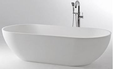 Picture of BAHAMA Freestanding Acrylic bath 1690 x 750 x 580 mm H, DELIVERED to CAPE TOWN