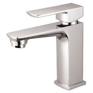 Picture of SALE Jasper square heavy brass basin mixer