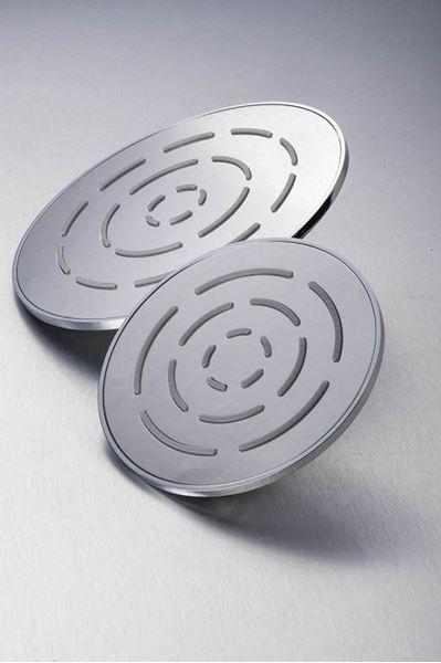 Picture of Stainless steel round Shower head 200 mm diameter, ref KG93R200