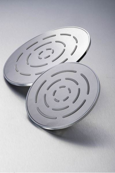 Picture of Stainless steel round Shower head 150 mm diameter, ref KG93R150