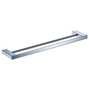 Picture of Bijiou Rhone Double Towel Rail 900 mm L, chrome plated Solid Brass, square style
