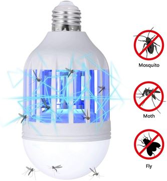Picture of SALE Insect killer LED Bulb, 2 in 1 Mosquito Killer Lamp UV Led Electronic Insect & Fly Killer