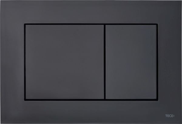 Picture of TECEnow  BLACK push plate for dual flush concealed cistern