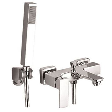Picture of SALE Jasper square BATH mixer SET with hand shower