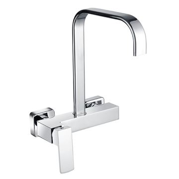 Picture of SALE Jasper square KITCHEN sink mixer WALL type
