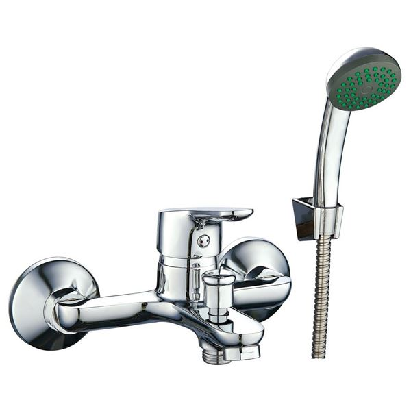 Picture of Silver BATH mixer SET with hand shower